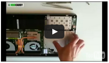 HDD Caddy Asus N550 video