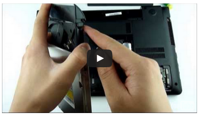 Samsung NP355V5C HDD Caddy video
