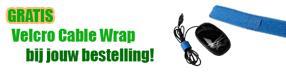 gratis cable wrap bij bestelling